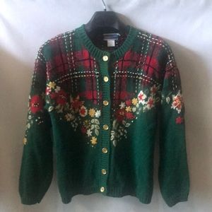 Pendleton vintage Christmas sweater size medium